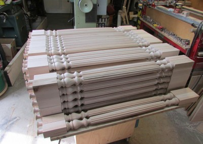 Reeded Balusters