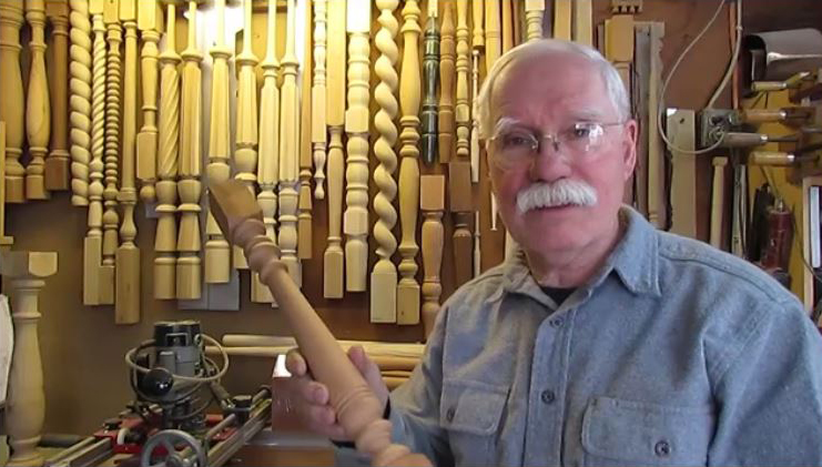 Art Lackey in his Shop